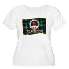 Farquharson Clan Plus Size T-Shirt
