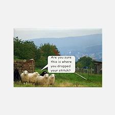 Drop Stitch Sheep Magnets
