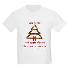 Deck Halls Bacon T-Shirt