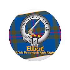 """Elliott Clan 3.5"""" Button"""