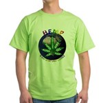 Hemp Planet Green T-Shirt