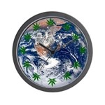 Hemp Planet Wall Clock