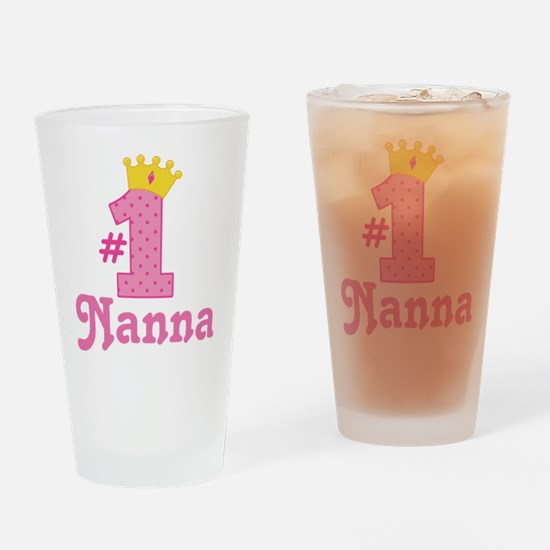 Nanna (Number One) Drinking Glass