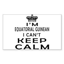 I Am Equatorial Guinean I Can Not Keep Calm Sticke