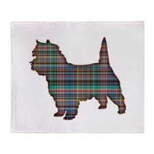 Cairn Terrier or Westie Throw Blanket
