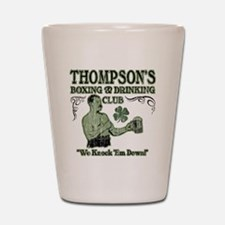 thompsons club Shot Glass