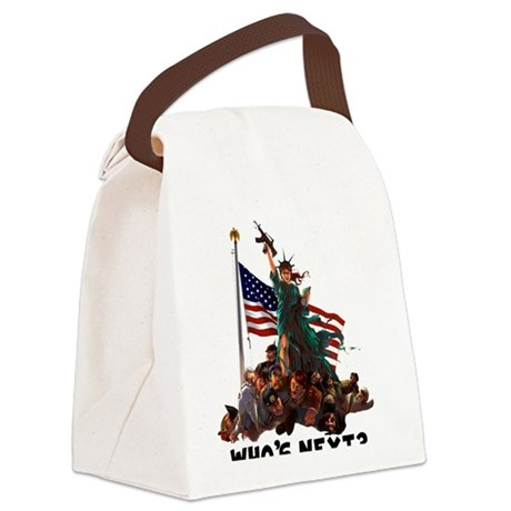 Who's Next? 'MURICA Canvas Lunch Bag