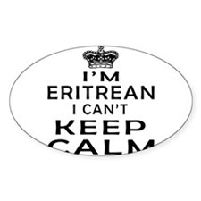 I Am Eritrean I Can Not Keep Calm Decal