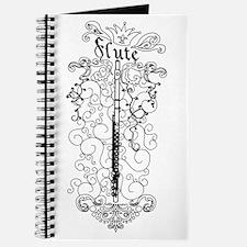Scateboard Style Flute Journal