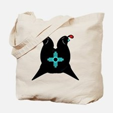 Two Quails and the sun Tote Bag