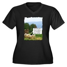 Drop Stitch Sheep Plus Size T-Shirt