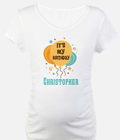 Personalized Birthday Balloon Party Shirt