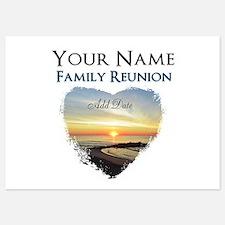 FAMILY REUNION FUN 5x7 Flat Cards