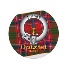 """Dalziel Clan 3.5"""" Button"""