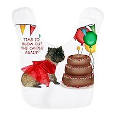 Cairn Terrier Birthday Bib