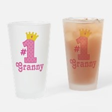 Granny (Number One) Drinking Glass