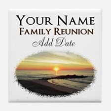 FAMILY PARTY Tile Coaster