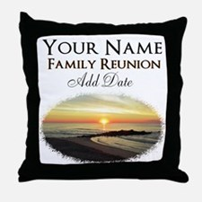 FAMILY PARTY Throw Pillow