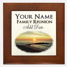 FAMILY PARTY Framed Tile