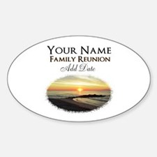 FAMILY PARTY Sticker (Oval)