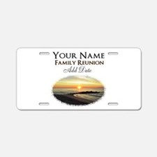 FAMILY PARTY Aluminum License Plate