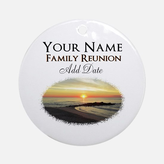 FAMILY PARTY Ornament (Round)