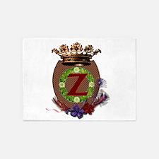 Z-Crest.png 5'x7'Area Rug