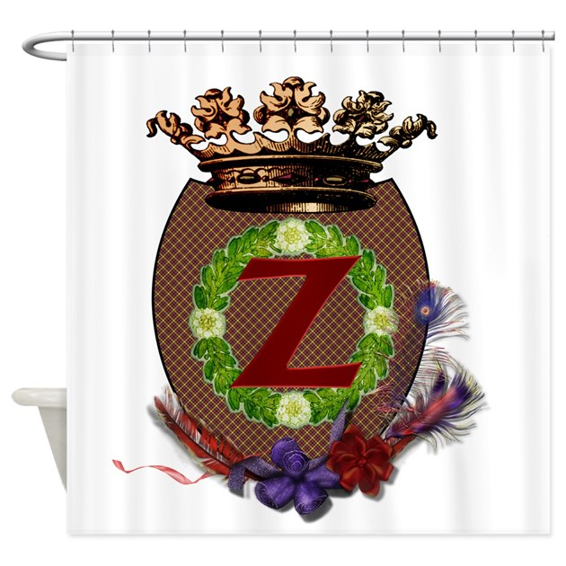 Z Shower Curtain By Zcrest