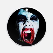My Zombie Round Ornament