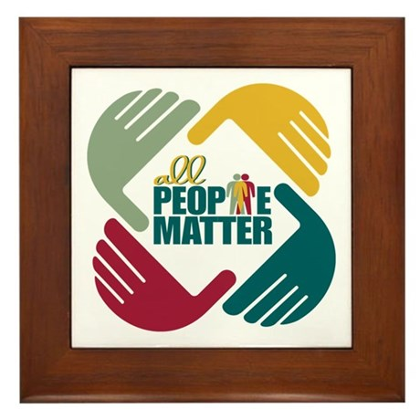 2014 Social Work Month Framed Tile