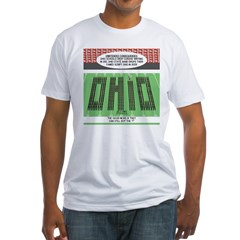 End of Script Ohio Fitted T-Shirt