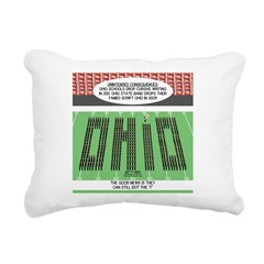 End of Script Ohio Rectangular Canvas Pillow