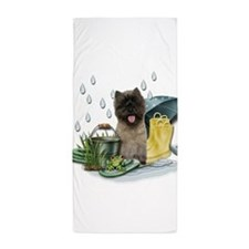 RainPlay.png Beach Towel