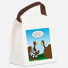 Turkey Referee Canvas Lunch Bag
