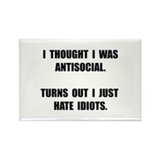 Antisocial Idiots Magnets