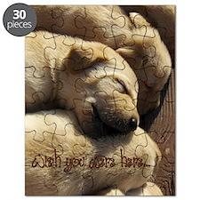 2-WishUWereHere_Labrador_Pups Puzzle