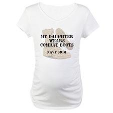 Navy mom daughter wears DCB Shirt