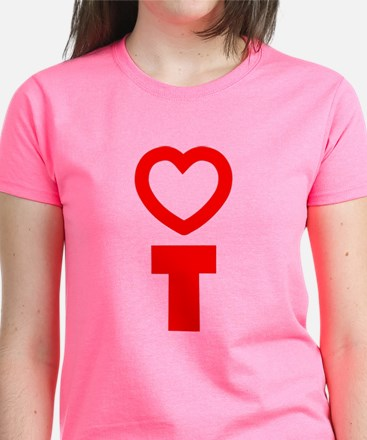 Heart Occupational Therapy Women's Dark T-Shirt