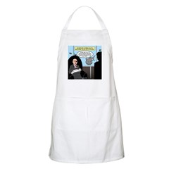 Bald Movie Villains Apron