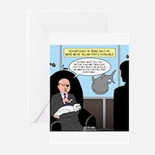 Bald Movie Villains Greeting Cards (Pk of 10)