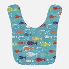 Cute Summer Beach Fish Bib