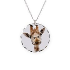 Giraffe Face New Profile Necklace
