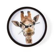 Giraffe Face New Profile Wall Clock