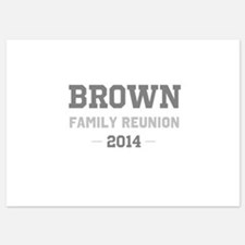 Personal Surname Family Reunion Invitations