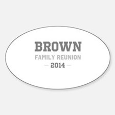 Personal Surname Family Reunion Decal