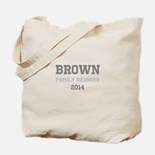 Personal Surname Family Reunion Tote Bag