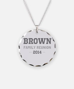 Personal Surname Family Reunion Necklace