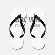 Personal Surname Family Reunion Flip Flops
