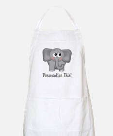 Cute Elephant Personalized Apron
