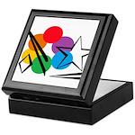 Rainbow Light Sky Keepsake Box